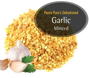 Pure Dehydrated Garlic Minced