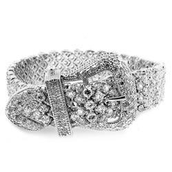 Designer Diamond Waist Belt