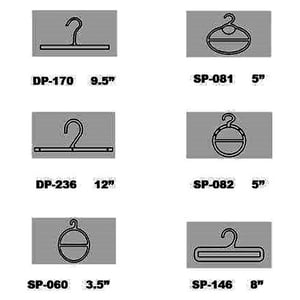 Durable Polybag Hangers And Scarf Hangers