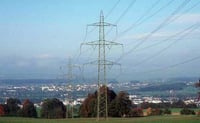 Heavy Duty Transmission Line Towers