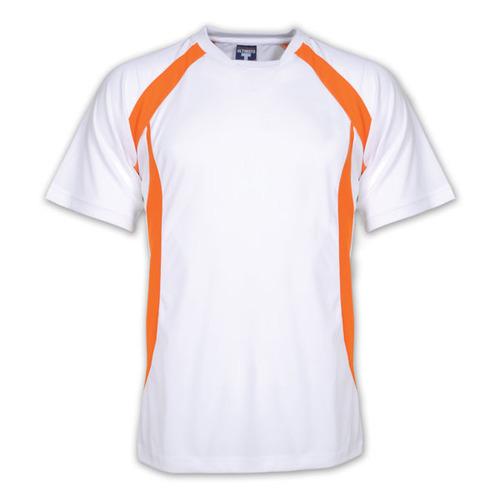 Mens White Sports T-Shirt
