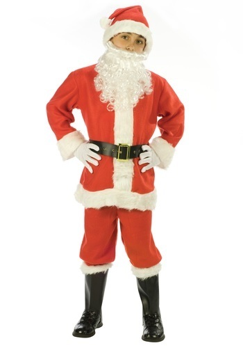 Boy Santa Christmas Costumes