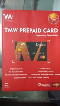 The Mobile Wallet Prepaid Card