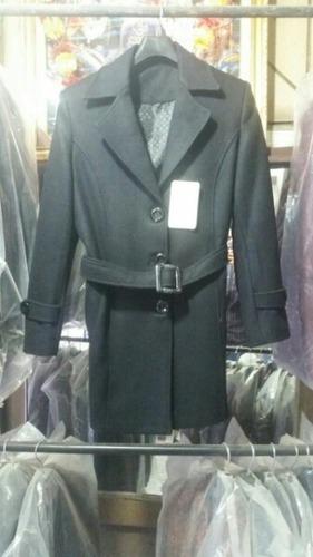 Attractive Design Long Belt Coat Breathable