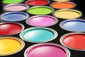 Interior And Exterior Colored Paints