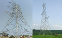 Perfect Strength Power Transmission Towers