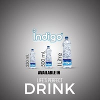 Plus Indigo Packaged Drinking Water