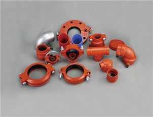 Ductile Iron Grooved Pipe Fittings