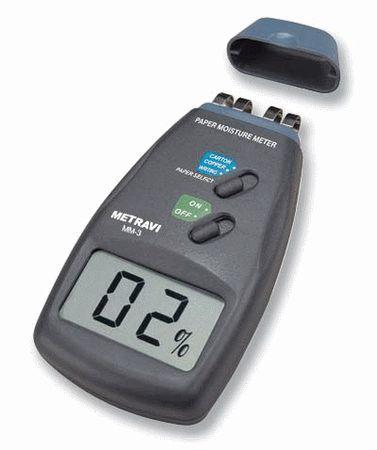 Handheld Paper Moisture Meter