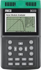 Handheld Solar Module Analyzer