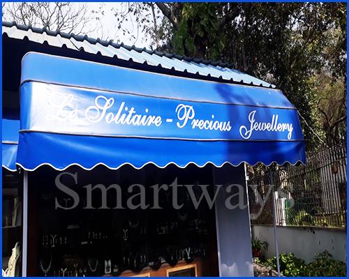 Outdoor Customized Fixed Awning in  Udyog Vihar, Phase-Iv