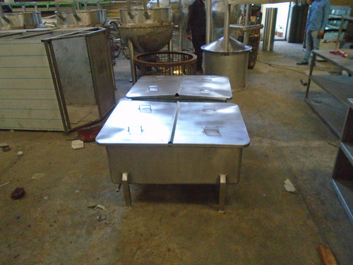 Stainless Steel Collection Tank
