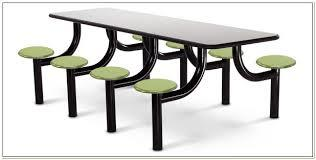 8 Seater Cafeteria Table