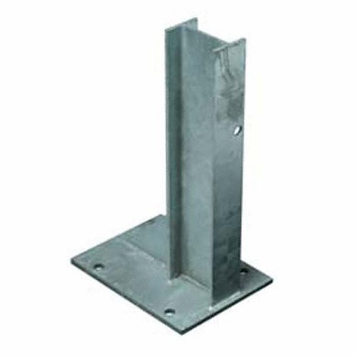Crash Barrier Post With Base Plates