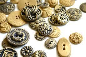 Fancy Design Brass Buttons