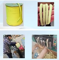 Yellow Color Kevlar Rope