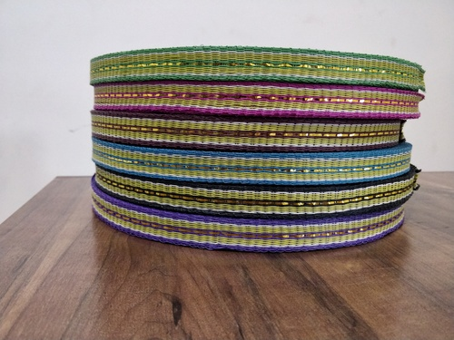 Multicolor Plastic Zari Niwar