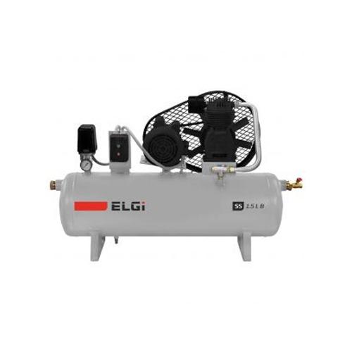 Single-Stage Belt Drive Piston Compressor
