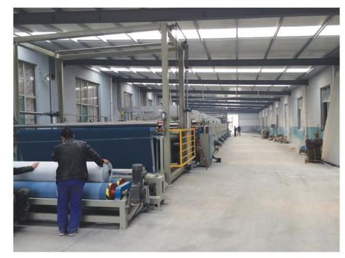 4200 Type Tufted Carpet Gumming And Drying Production Line
