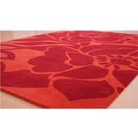 Red Hand Knotted Carpet