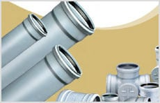 Soil Waste and Rain Water drainage Systems Pipes