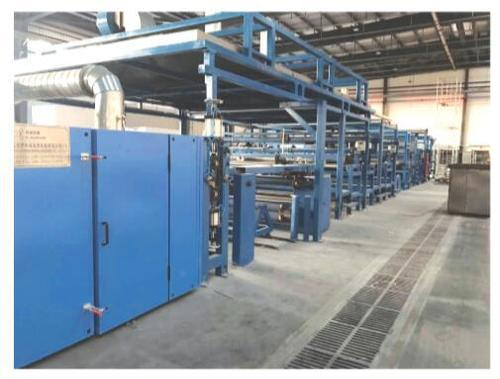 Carpet Gumming And Drying Production Line