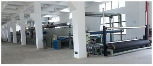Automatic Artificial Turf Gumming And Drying Production Line