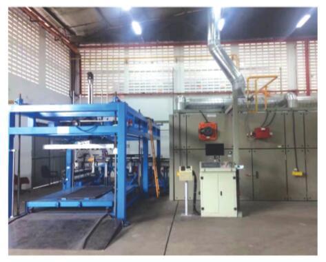 Automotive Interior Trim Mold Pressing Production Line