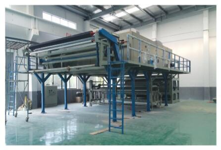 Axminster Carpet Gumming And Drying Production Line