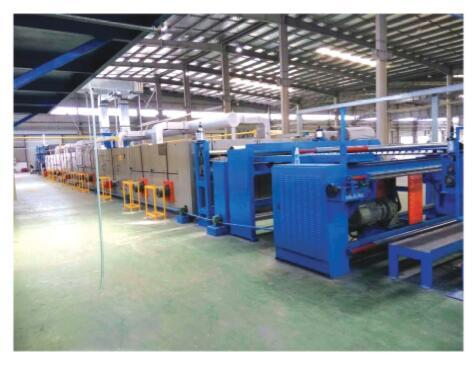 Carpet Pre Coated Drying Production Line