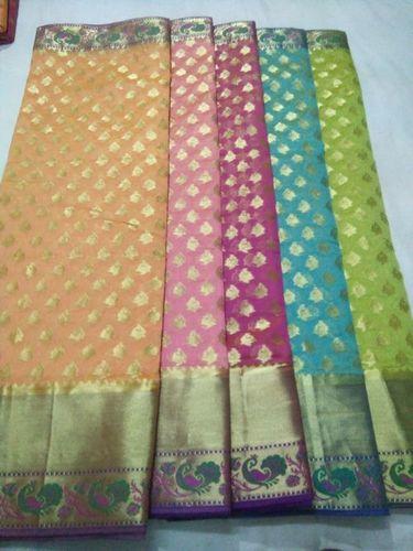 Designer Banarasi Cotton Saree