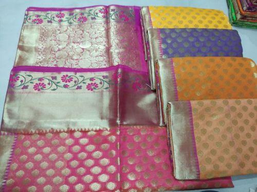 Designer Banarasi Cotton Sarees For Ladies