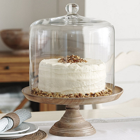 Fancy Wooden Cake Stand