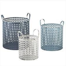Metal Round Baskets For Kitchen