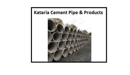 Rcc Full Round Cement Pipes