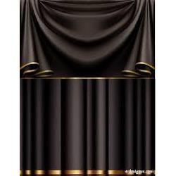 Anti-Pull Designer Brown Curtain Fabric