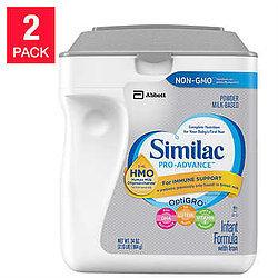 Similac Advance Non GMO Infant Formula Powder