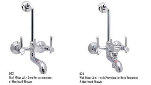 3 In 1 Wall Mixer With Bend