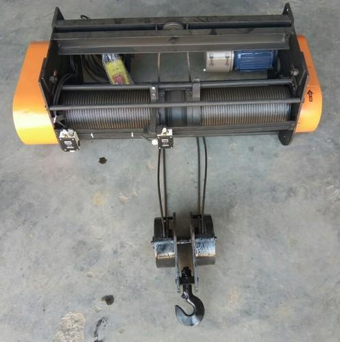 Electric Wire Rope Hoist Without Trolley