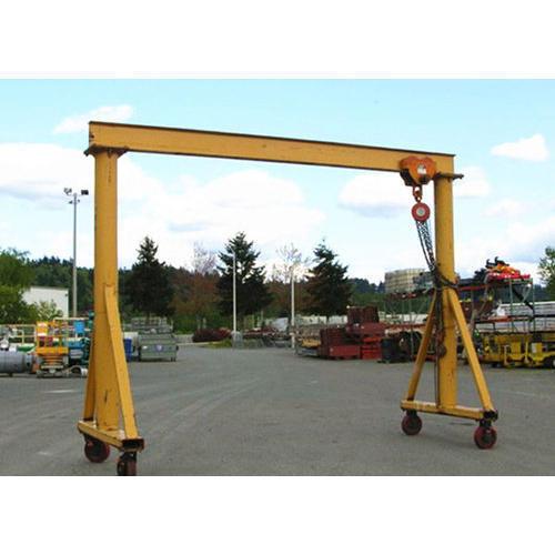 Seamless Finish Gantry Crane
