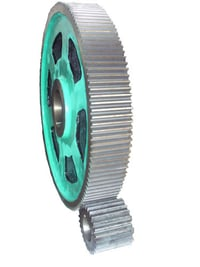 Bull Gear and Pinion For Rubber Industry
