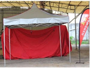 Folding Custom Printed Outdoor Canopy Tent With Aluminum Frame