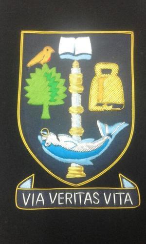 Blazer Badges 100% Hand Embroidery