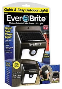 Everbrite Motion Activated Solar Power LED Light