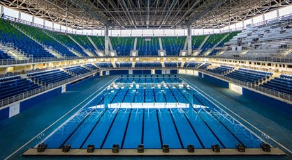 Olympic Water Pools In Large Scale
