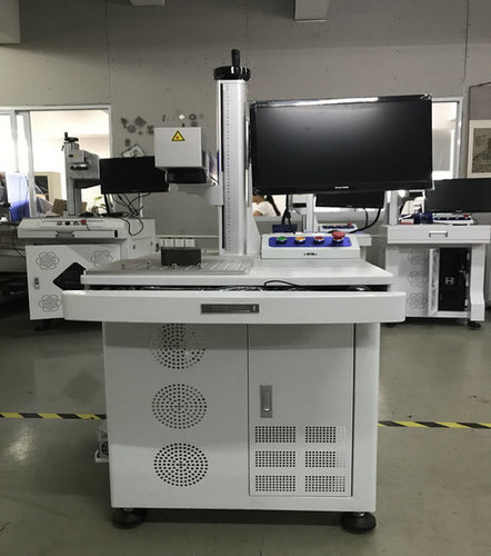 Silver Gold Copper Laser Marking Machine With Good Quality