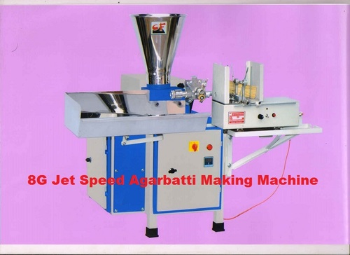 Commercial 8G Jet Speed Agarbatti Making Machine in   Chitra GIDC