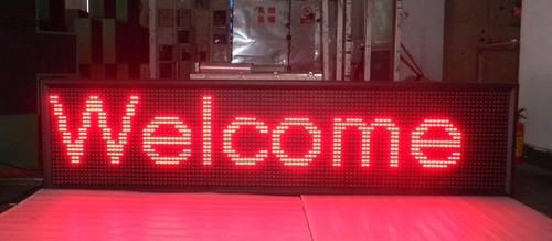 Led Text Message Display Board