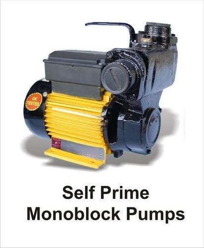 Self Prime Monoblock Pump