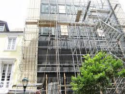 Facade Scaffolding on Rent Service